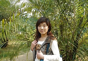 Outdoor Asian Teen