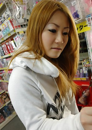 Redhead Asian Teen